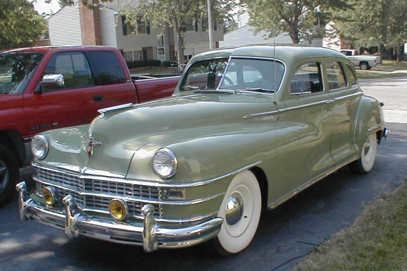 1949 Chrysler New Yorker Information And Photos Momentcar