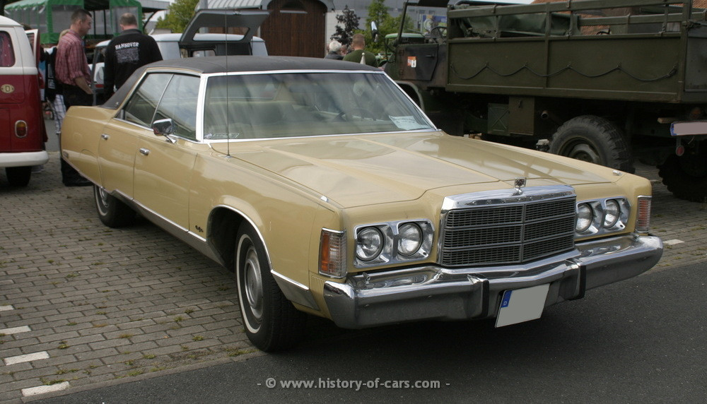 1975 Chrysler New Yorker Information And Photos Momentcar