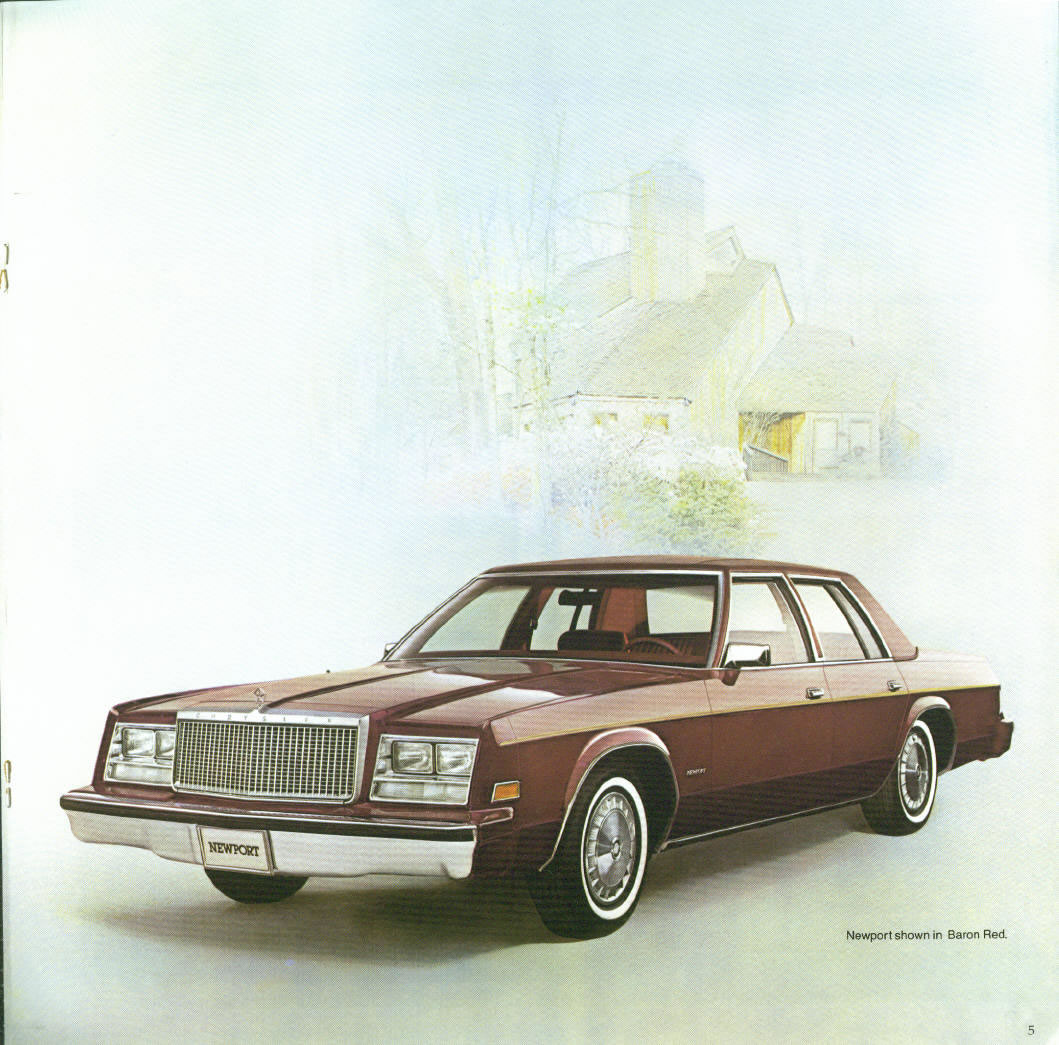 Chrysler New Yorker 1981 #8