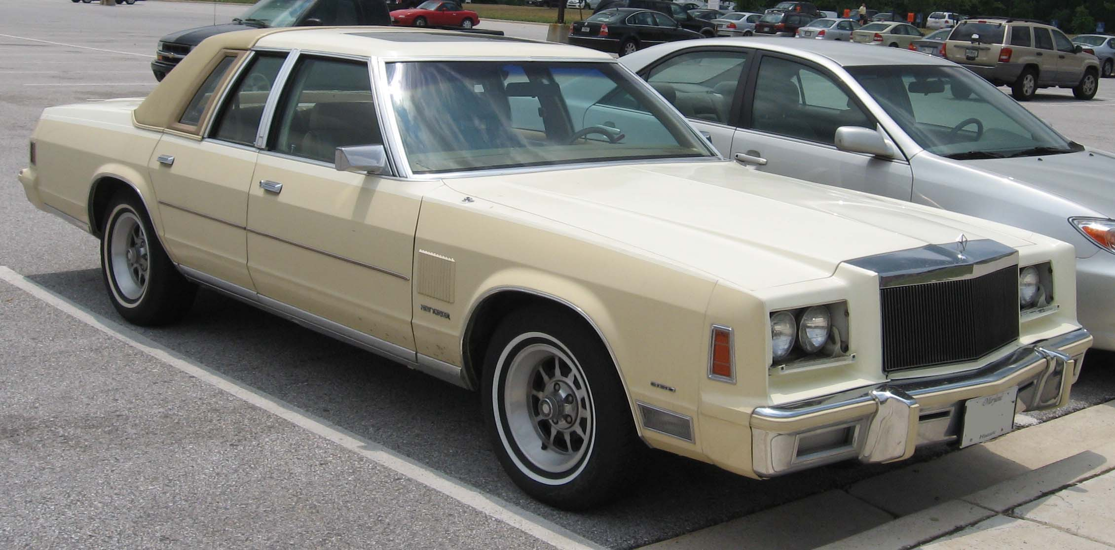 1982 Chrysler New Yorker Information And Photos Momentcar