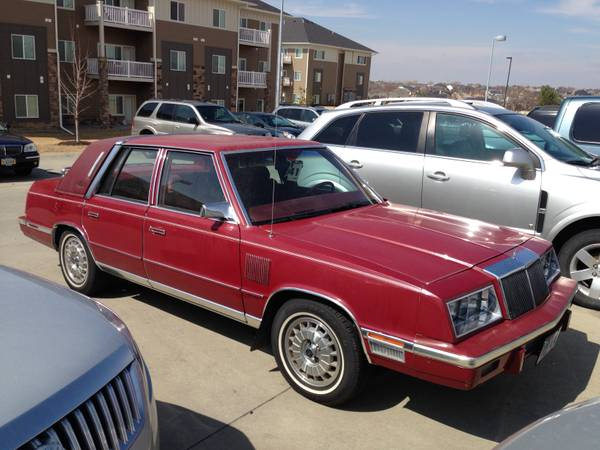 1983 Chrysler New Yorker Information And Photos Momentcar
