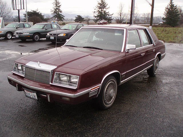 Chrysler New Yorker 1984 #9