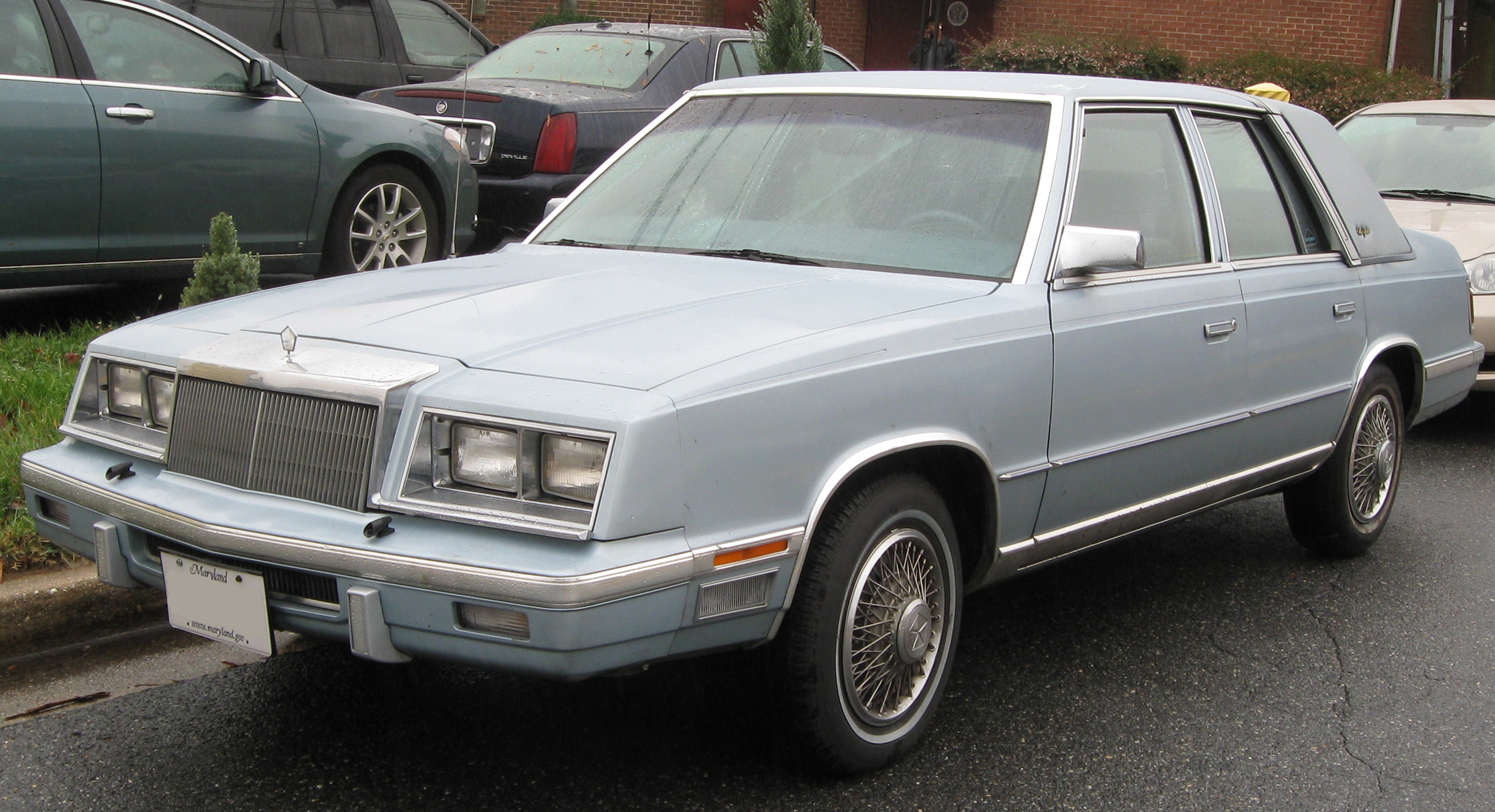 1985 Chrysler New Yorker Information And Photos Momentcar