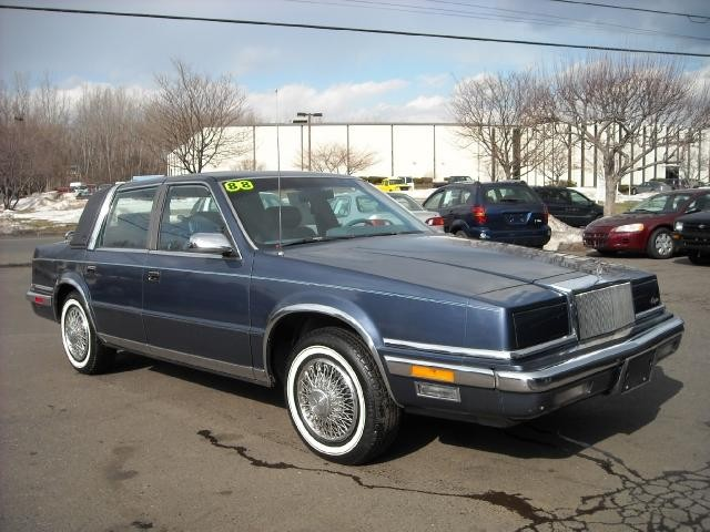 1988 chrysler new yorker information and photos momentcar for 1990 chrysler new yorker salon