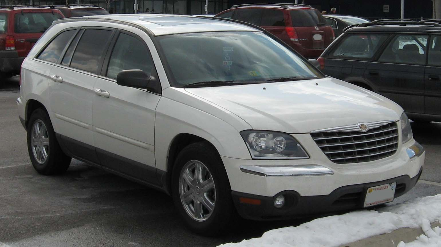 2006 chrysler pacifica information and photos momentcar. Black Bedroom Furniture Sets. Home Design Ideas