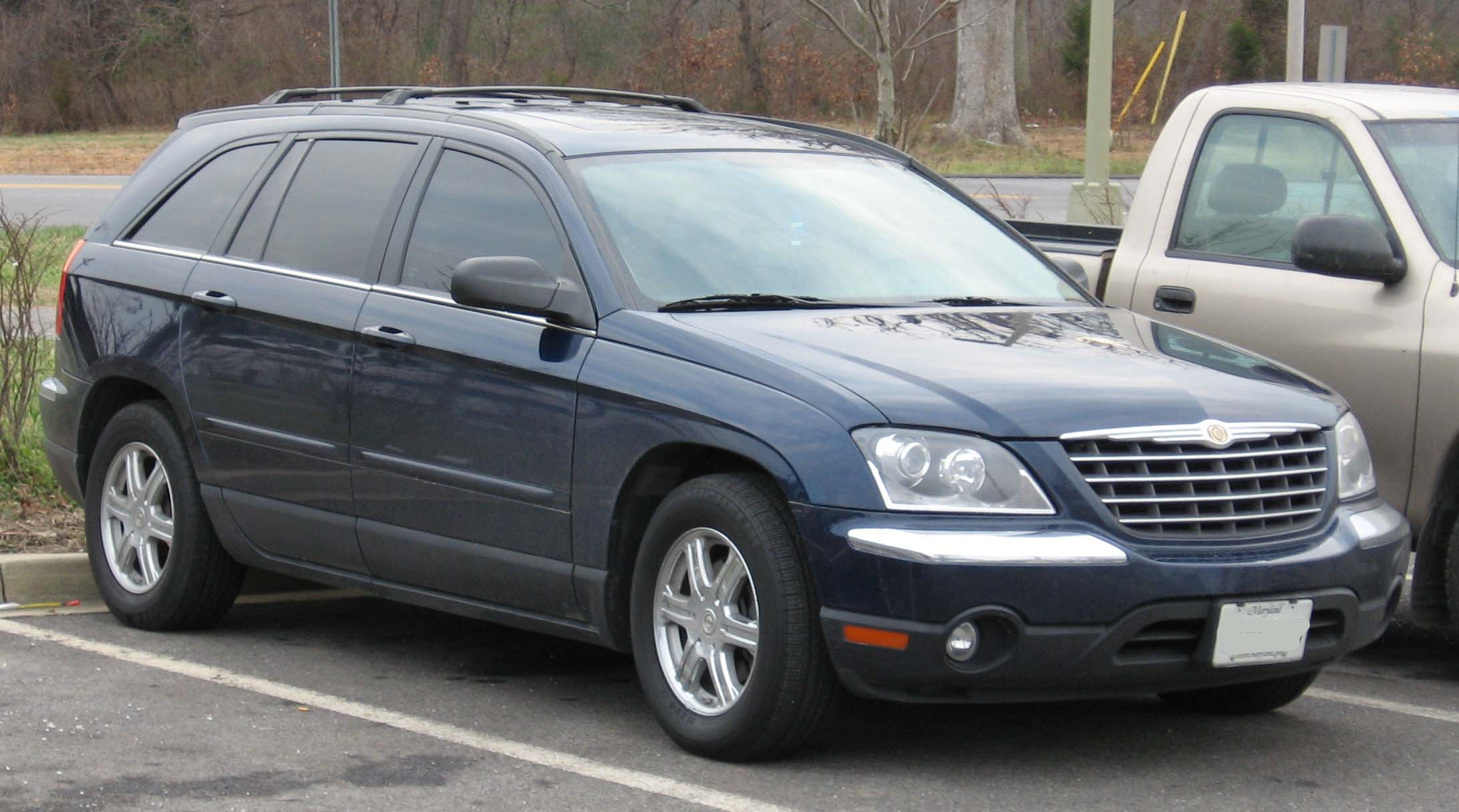 2006 Chrysler Pacifica - Information and photos - MOMENTcar