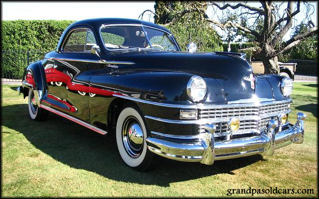 1947 chrysler royal information and photos momentcar for 1941 chrysler royal 3 window coupe