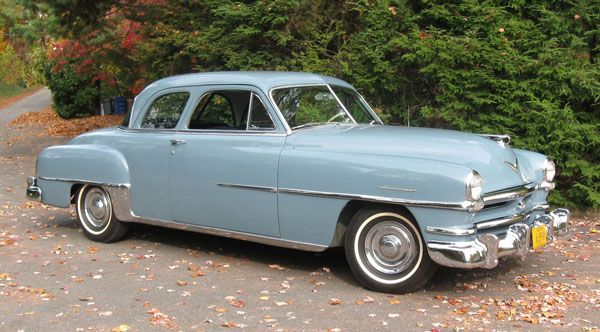 Stately Strength - 1952 Chrysler Saratoga - With its - Hemmings ...