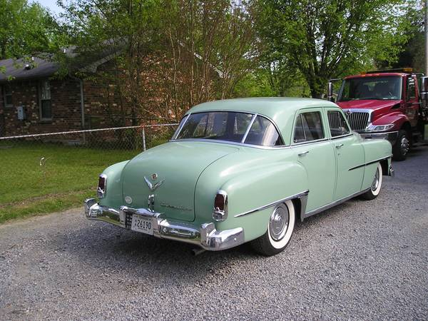 Auction results and data for 1952 Chrysler Saratoga - Conceptcarz