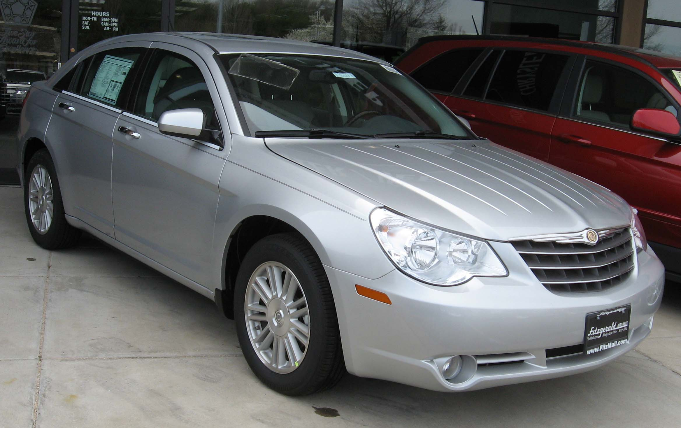 2007 chrysler sebring information and photos momentcar. Cars Review. Best American Auto & Cars Review