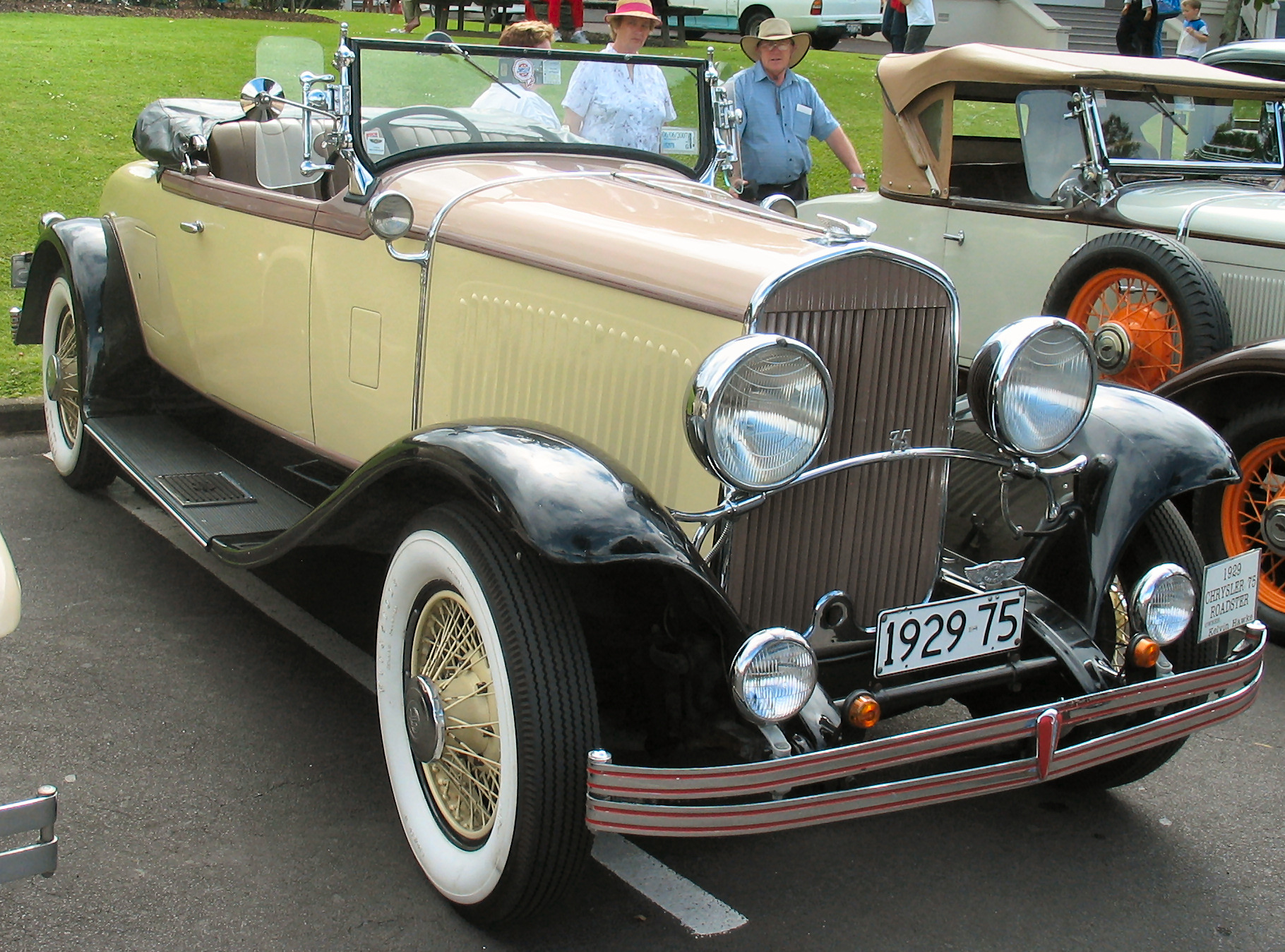1929 Chrysler Series 75 Information And Photos Momentcar