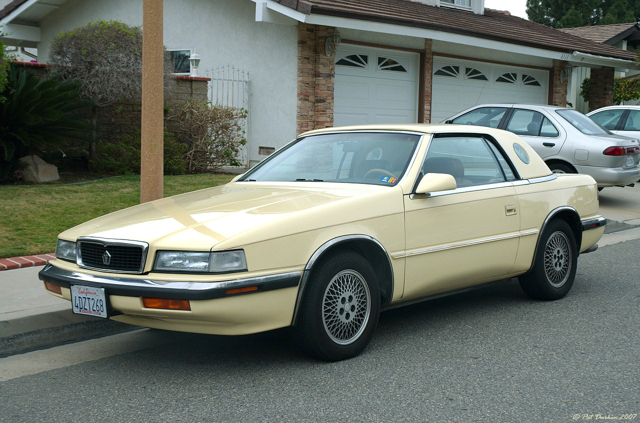 chrysler tc by maserati 1989 3 chrysler tc by maserati 1989 4 chrysler. Cars Review. Best American Auto & Cars Review