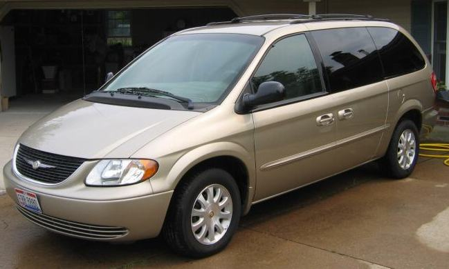 2002 chrysler town and country information and photos. Black Bedroom Furniture Sets. Home Design Ideas