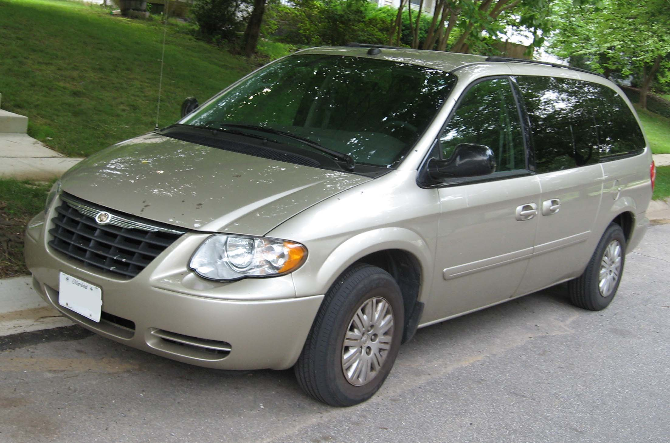 2007 chrysler town and country information and photos. Black Bedroom Furniture Sets. Home Design Ideas