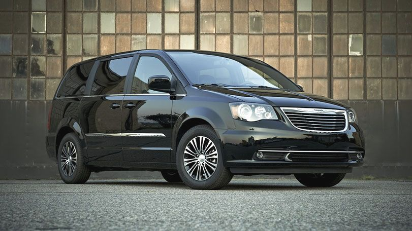 Chrysler Town and Country 2014 #13