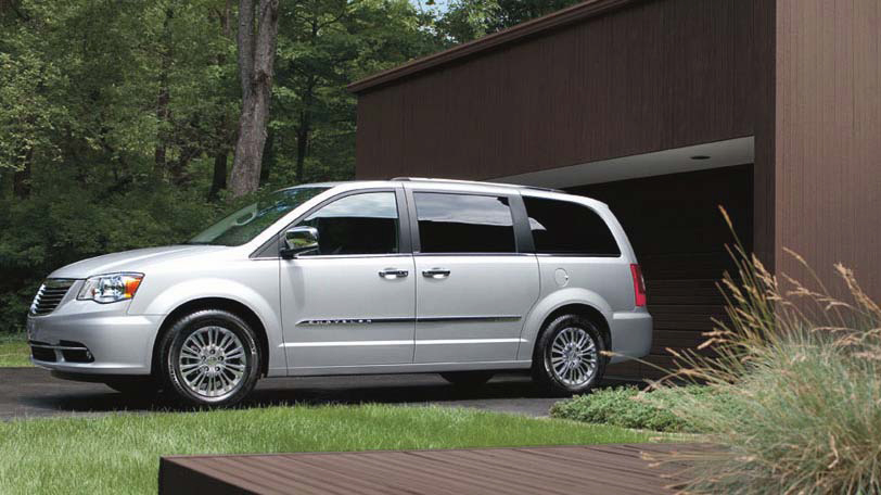 Chrysler Town and Country 2014 #9