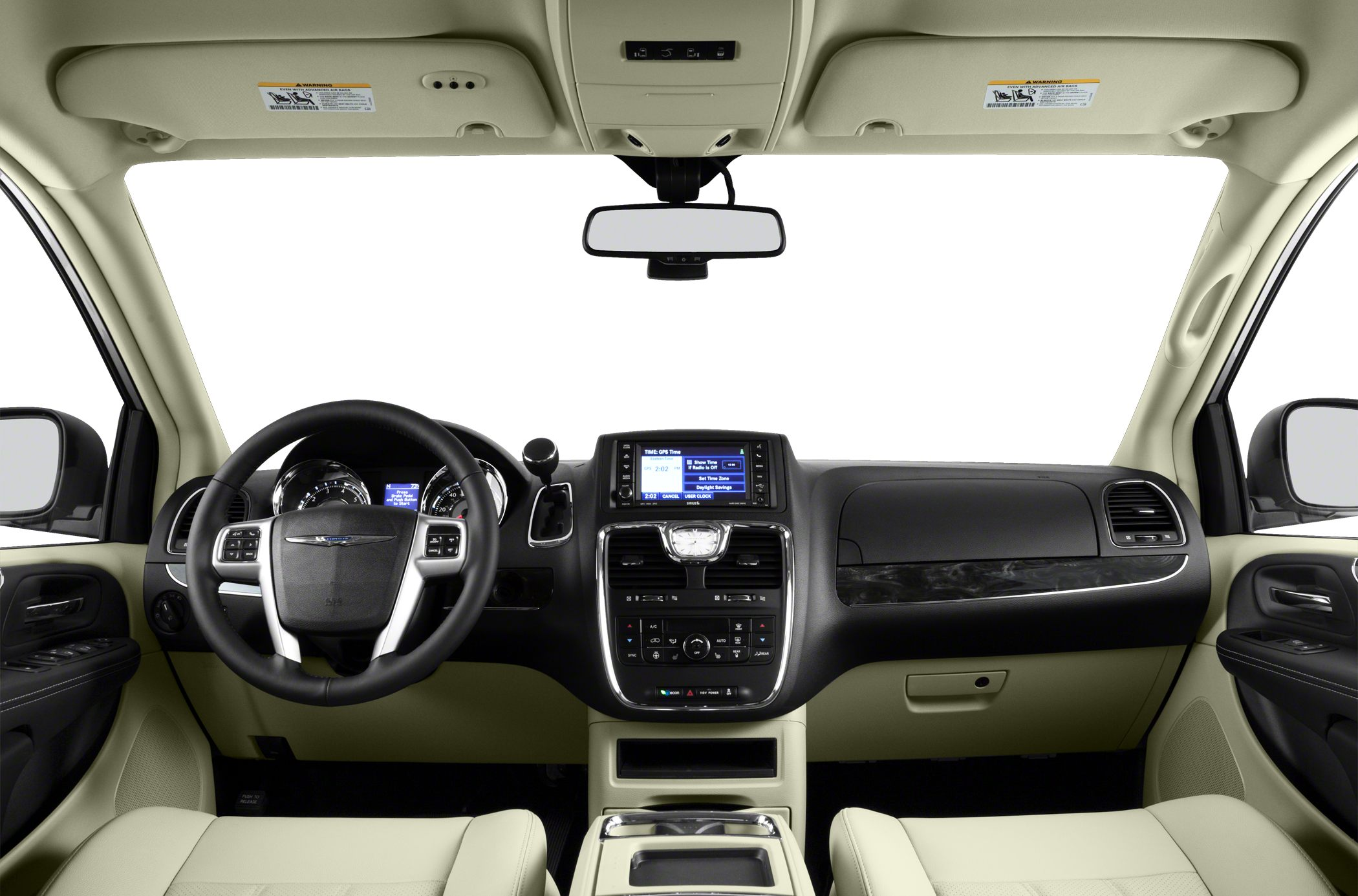 motor news first seats interior folded en chrysler trend test country and town s