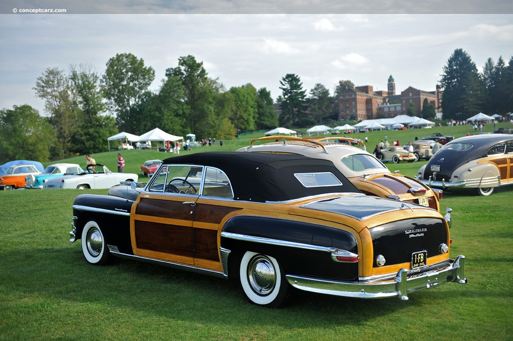 1949 Chrysler Town Amp Country Information And Photos