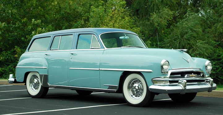 Town And Country Toyota >> 1951 Chrysler Town & Country - Information and photos ...
