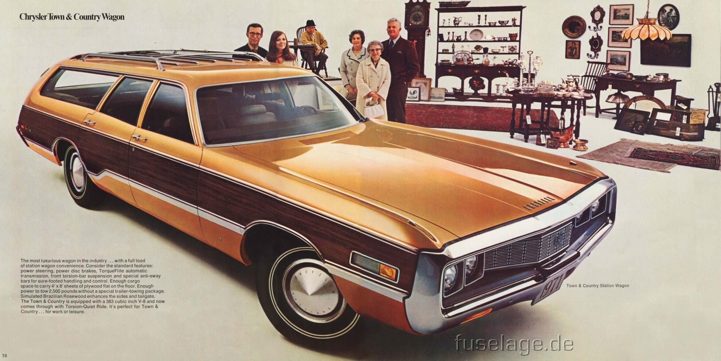Hyundai Of Newport >> 1971 Chrysler Town & Country - Information and photos ...