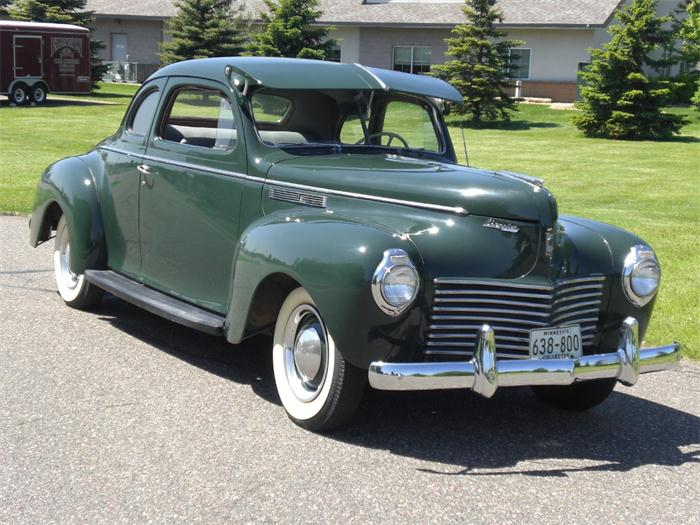 1940 Chrysler Windsor Information And Photos Momentcar