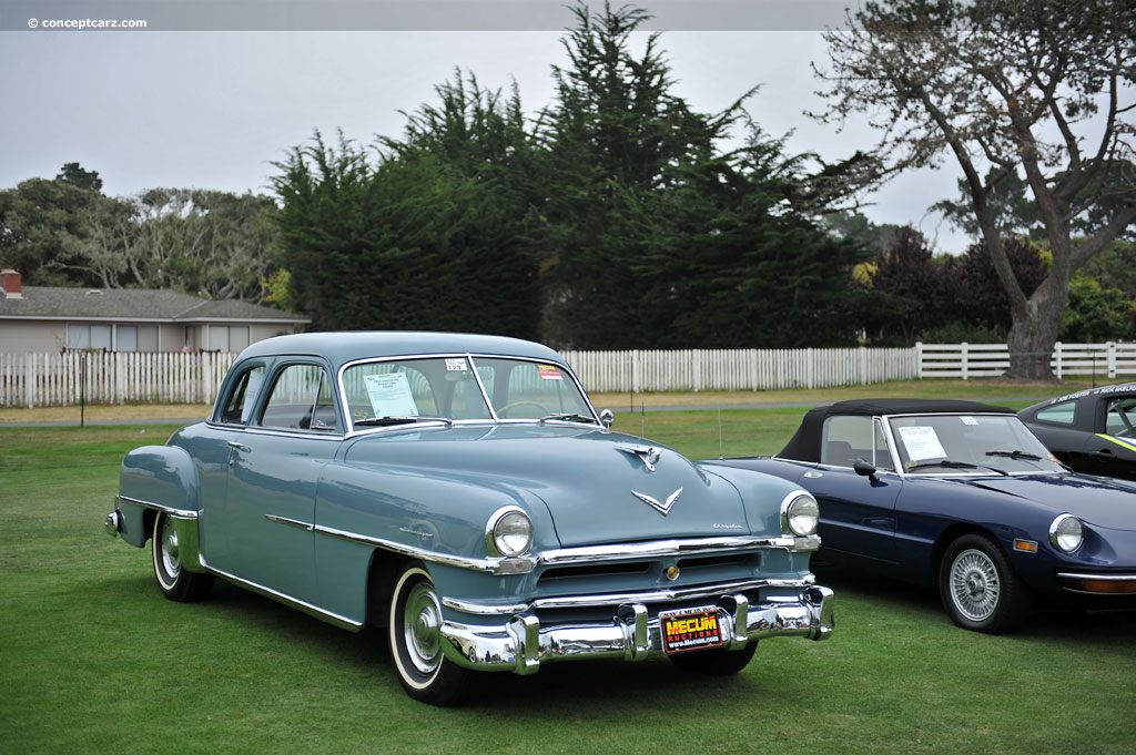 1952 Chrysler Windsor Information And Photos Momentcar
