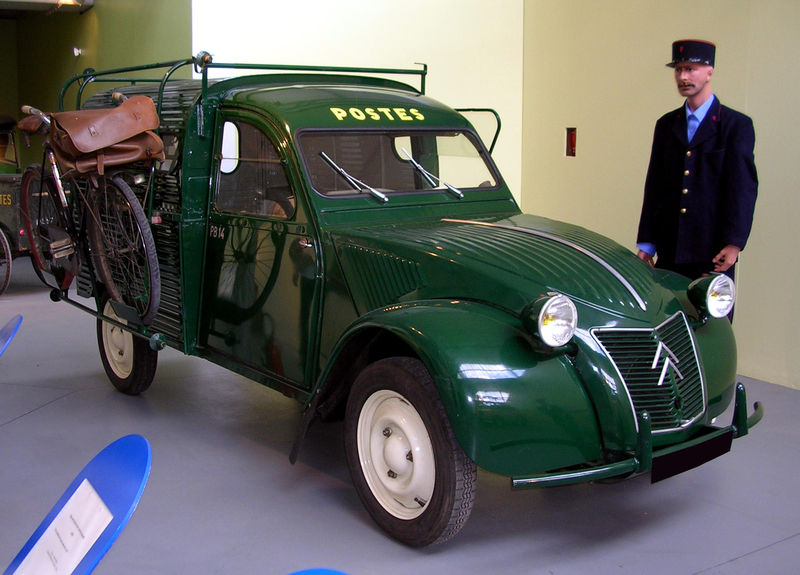1953 citroen 2cv - information and photos