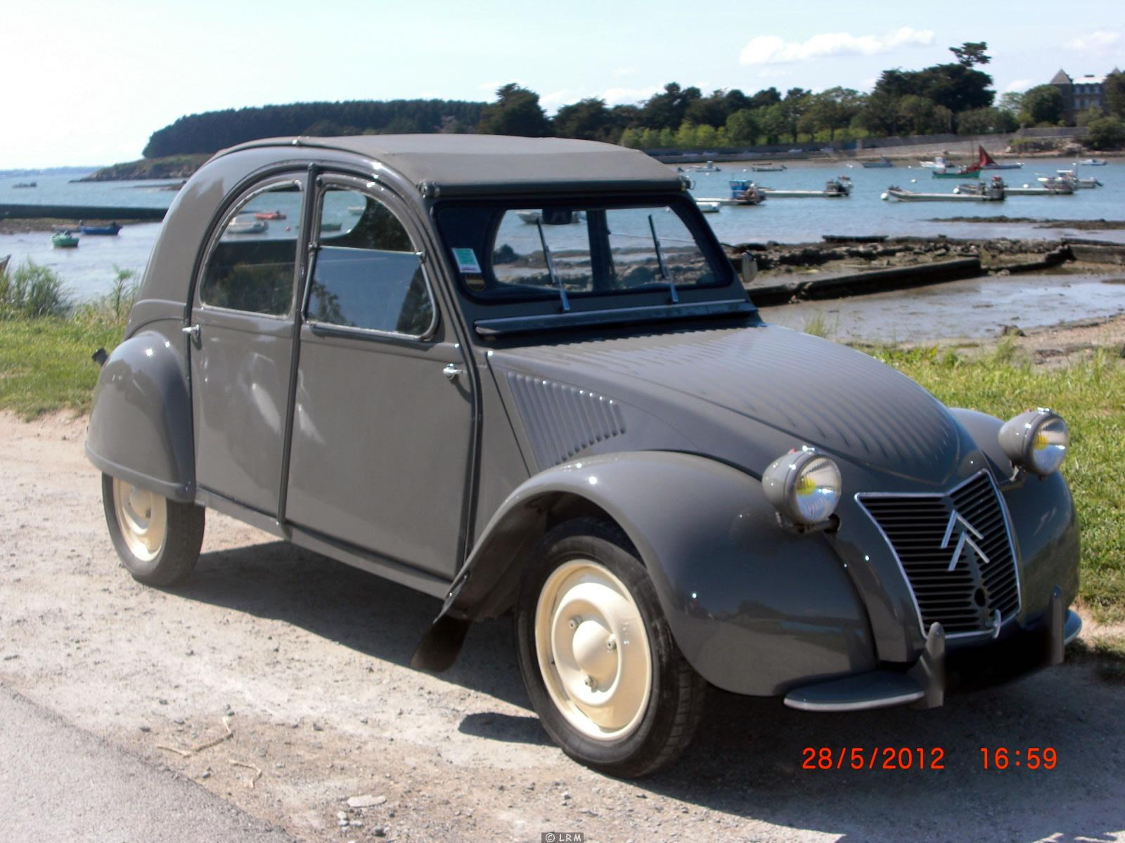 1954 citroen 2cv - information and photos