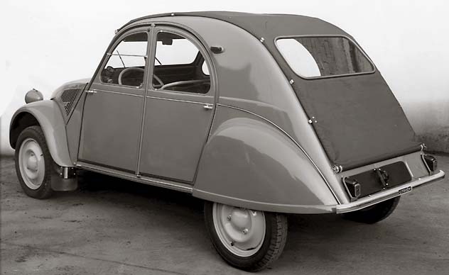1956 citroen 2cv information and photos momentcar. Black Bedroom Furniture Sets. Home Design Ideas