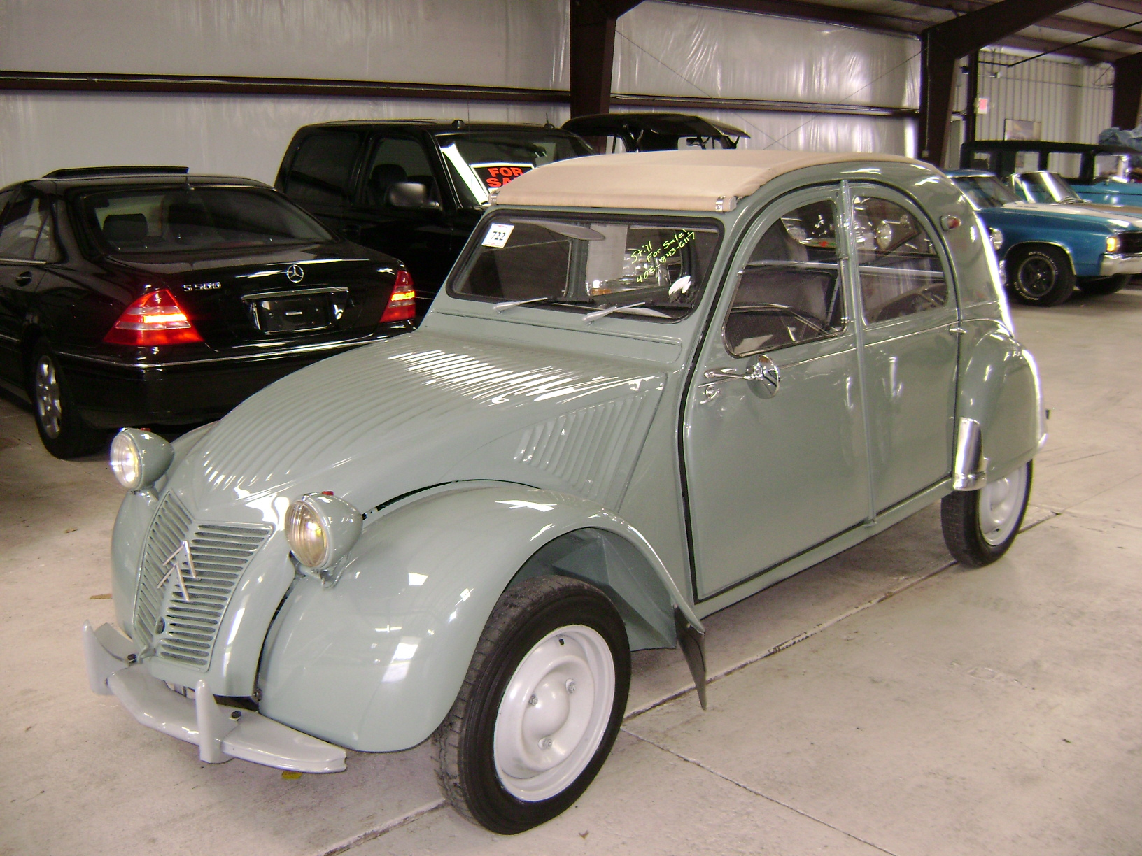 1958 citroen 2cv information and photos momentcar. Black Bedroom Furniture Sets. Home Design Ideas