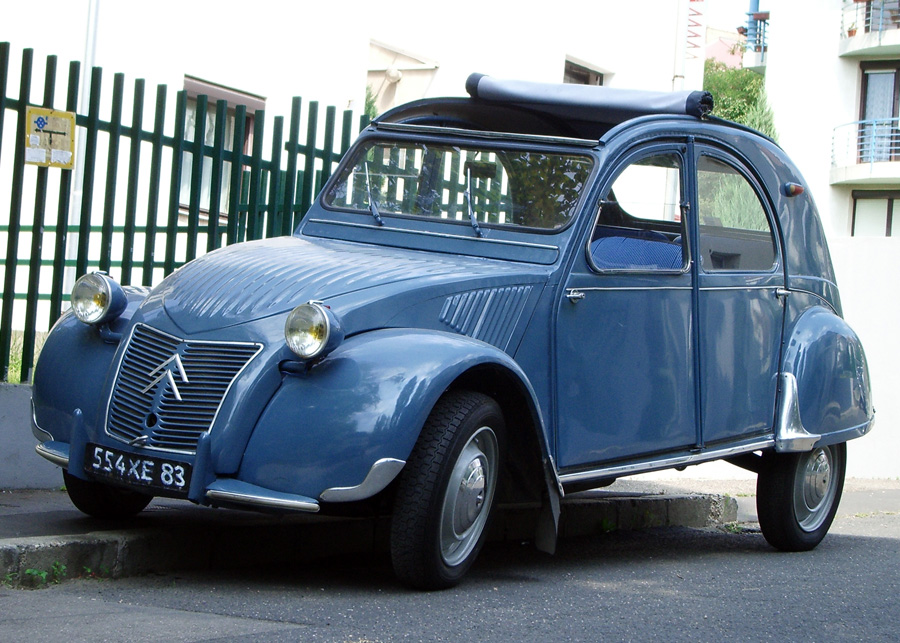 1959 citroen 2cv - information and photos