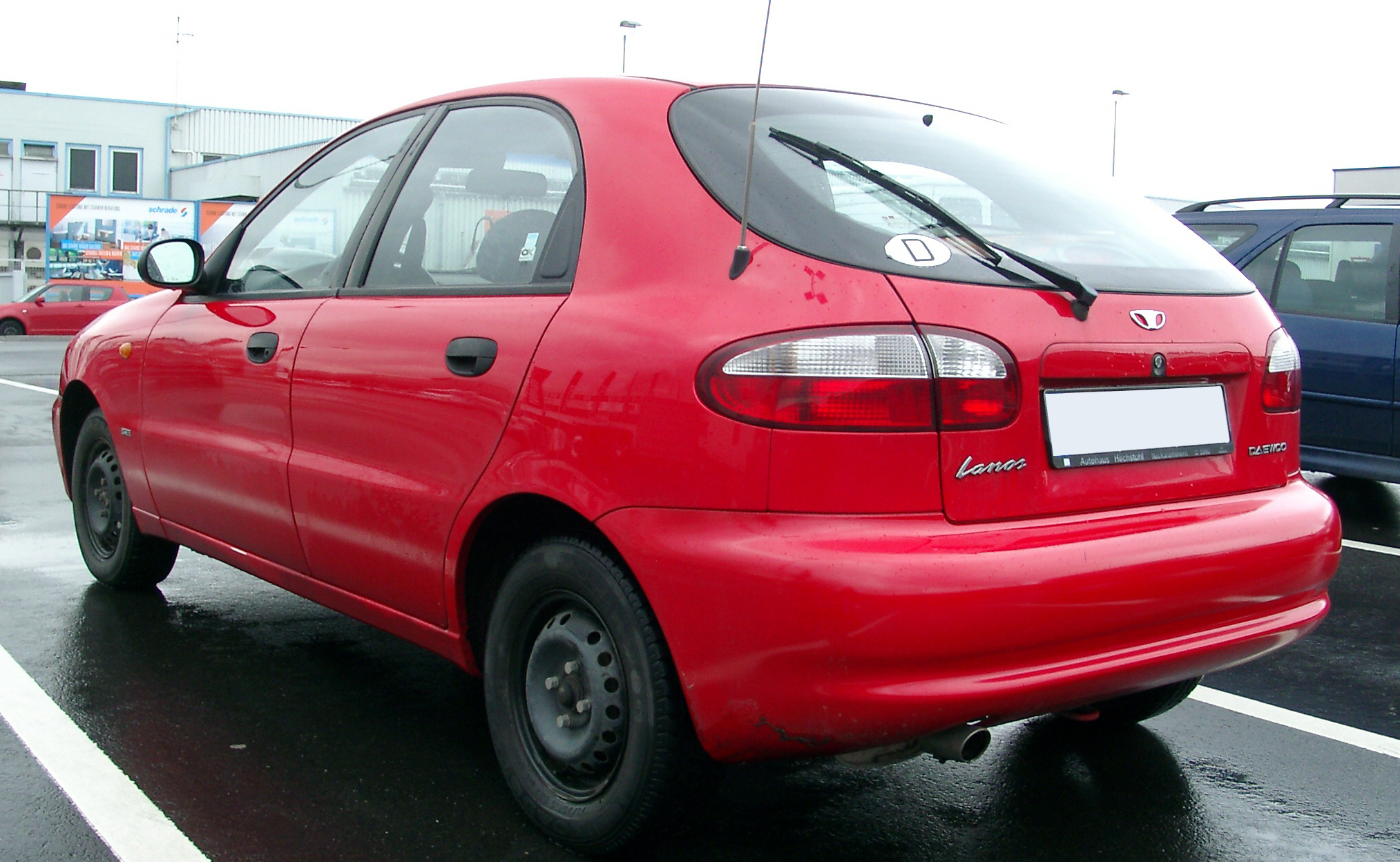 Daewoo Lanos Information And Photos Momentcar 2001 Electrical Wiring Diagram Get Free Image About 9