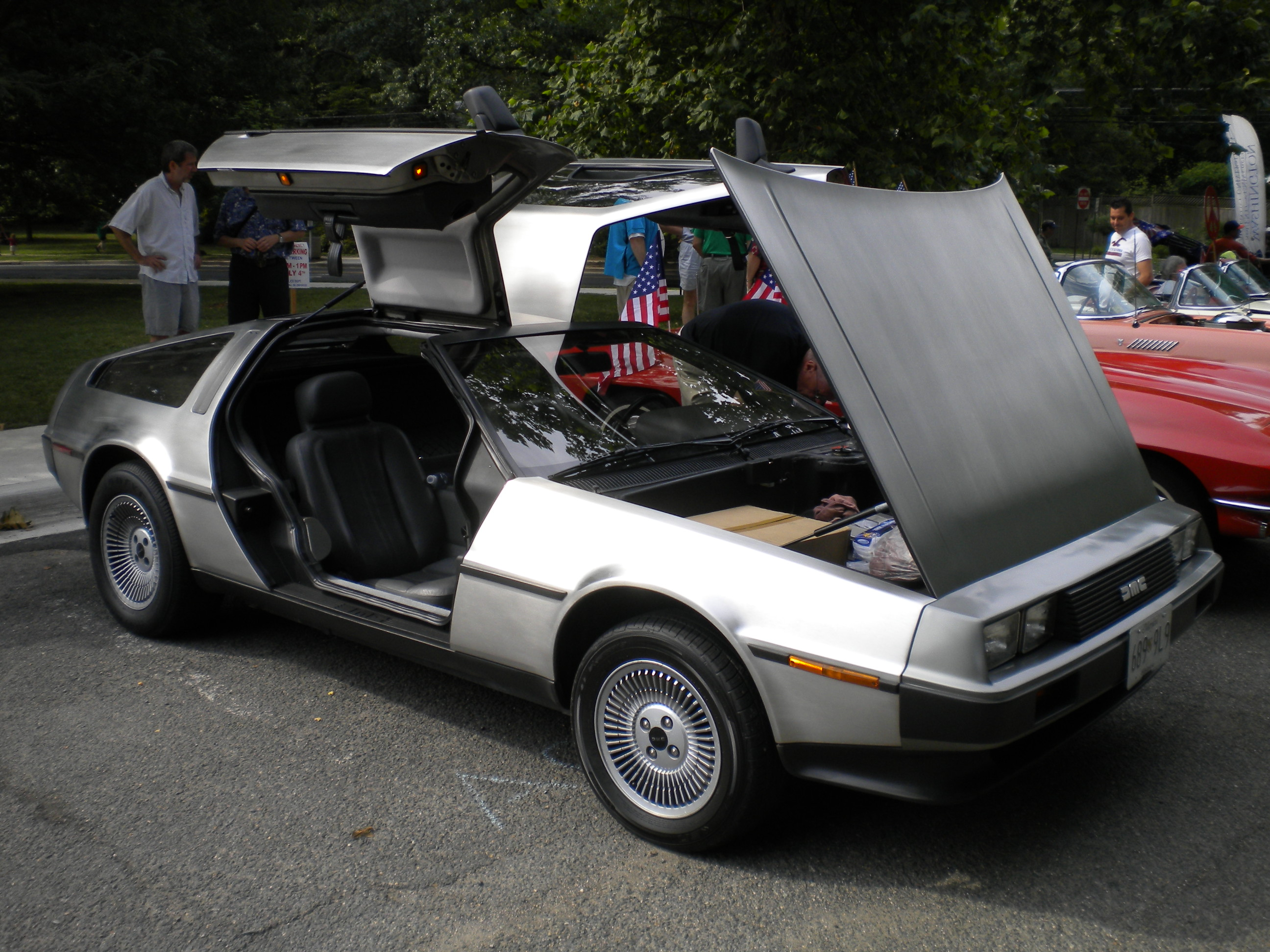 Delorean DMC-12 1982 #3
