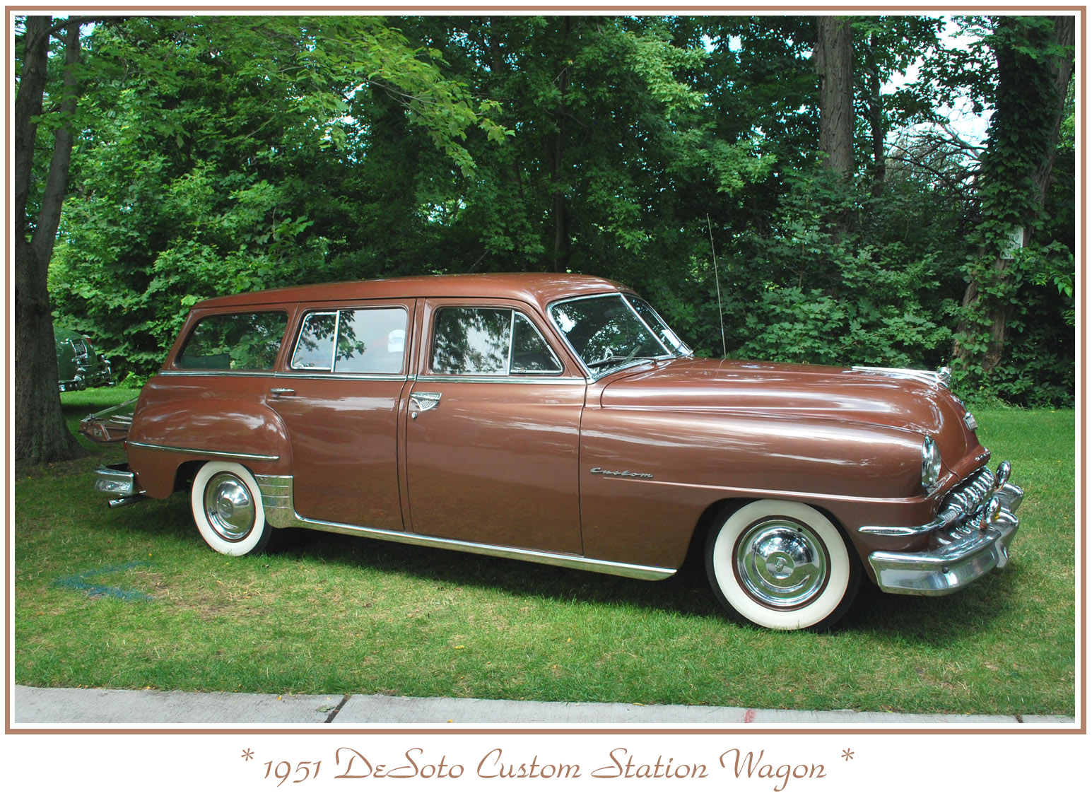 Desoto Custom Information And Photos Momentcar 1951 Chevrolet Station Wagon 13
