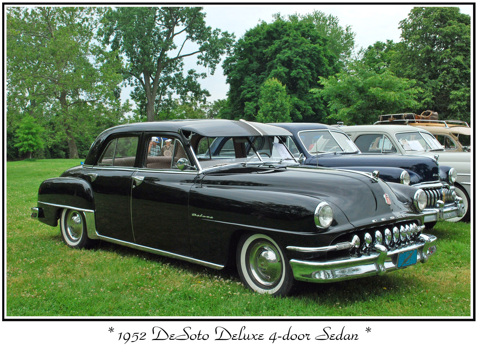 1950 desoto deluxe   information and photos   momentcar