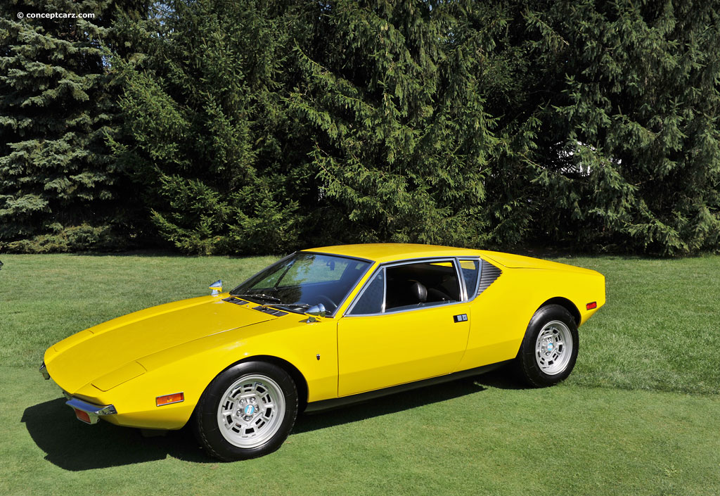 Detomaso Pantera For Sale >> 1974 DeTomaso Pantera - Information and photos - MOMENTcar