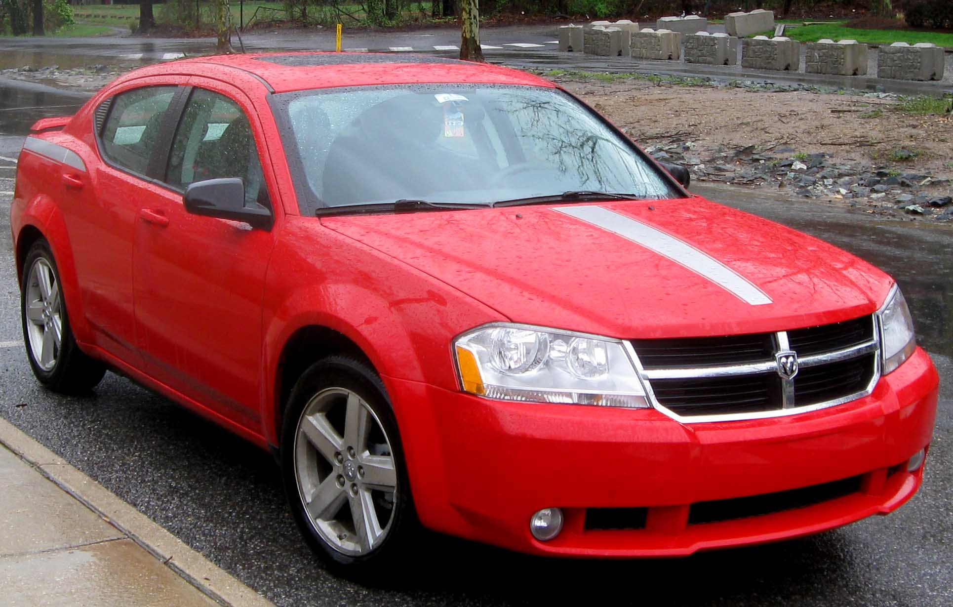 2009 Dodge Avenger Information And Photos Momentcar
