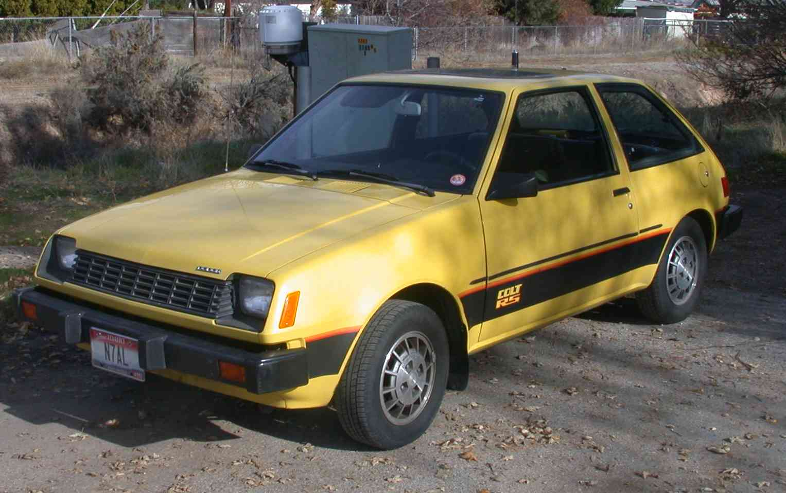 1981 Dodge Colt - Information and photos - MOMENTcar