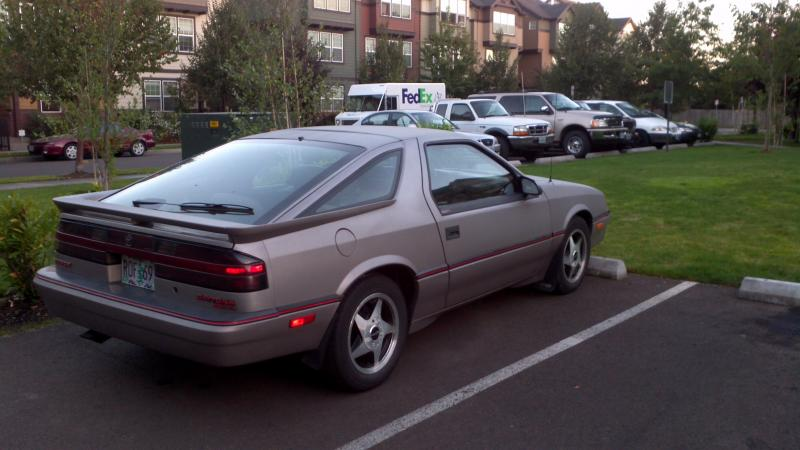 Dodge Daytona 1988 #11