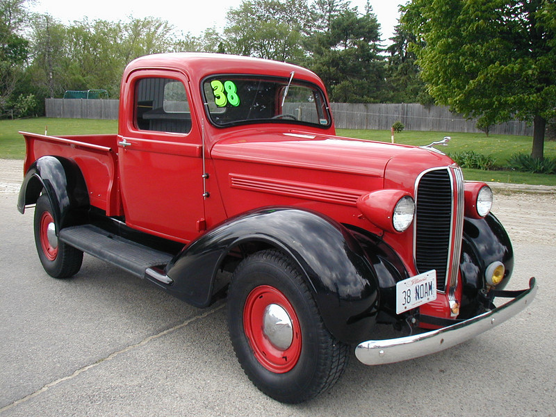 Jeep Willys Truck >> 1938 Dodge Pickup - Information and photos - MOMENTcar