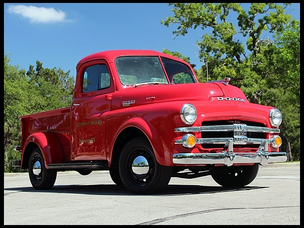 1951 Dodge Pickup Information And Photos Momentcar