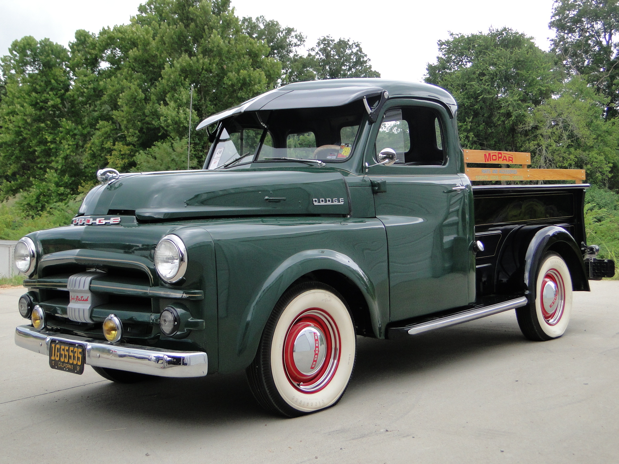 1952 dodge pickup information and photos momentcar. Black Bedroom Furniture Sets. Home Design Ideas