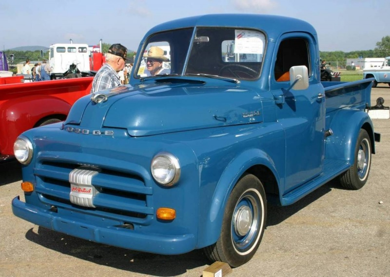 1953 Dodge Pickup Information And Photos Momentcar