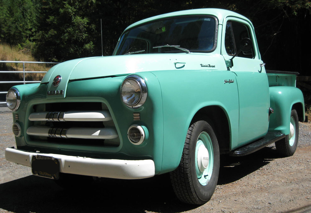 1954 Dodge Pickup Information And Photos Momentcar