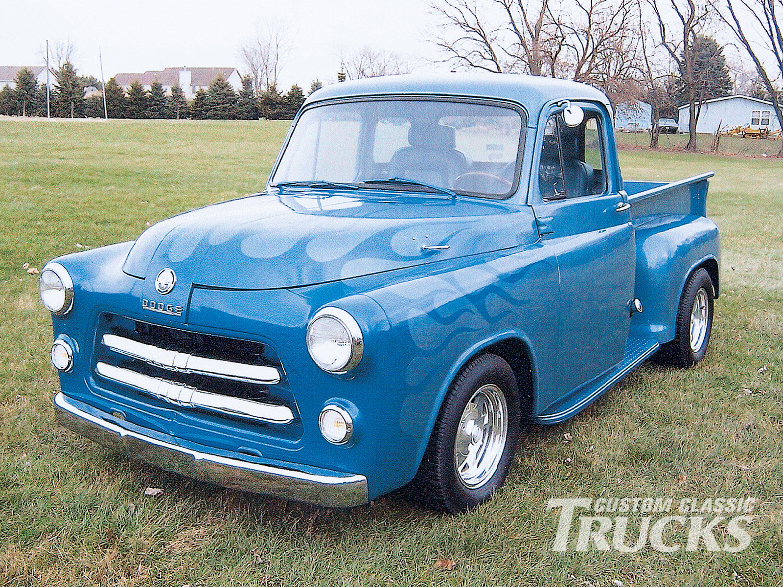 1954 Dodge Pickup Wiring Diagram Expert Schematics 1986 1500 Information And Photos Momentcar