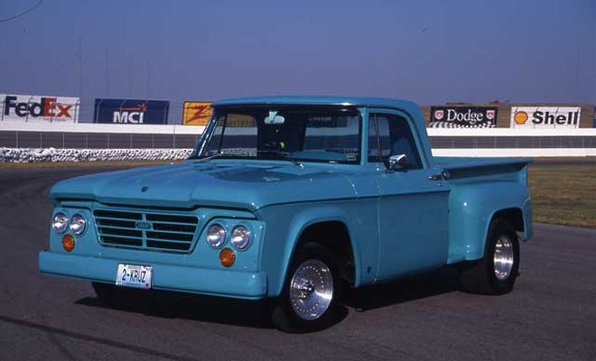 1963 Dodge Pickup Information And Photos Momentcar