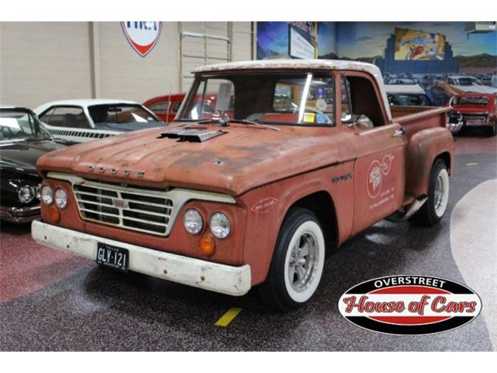 1964 Dodge Pickup - Information and photos - MOTcar