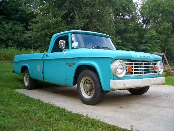 1967 Dodge Pickup Information And Photos Momentcar