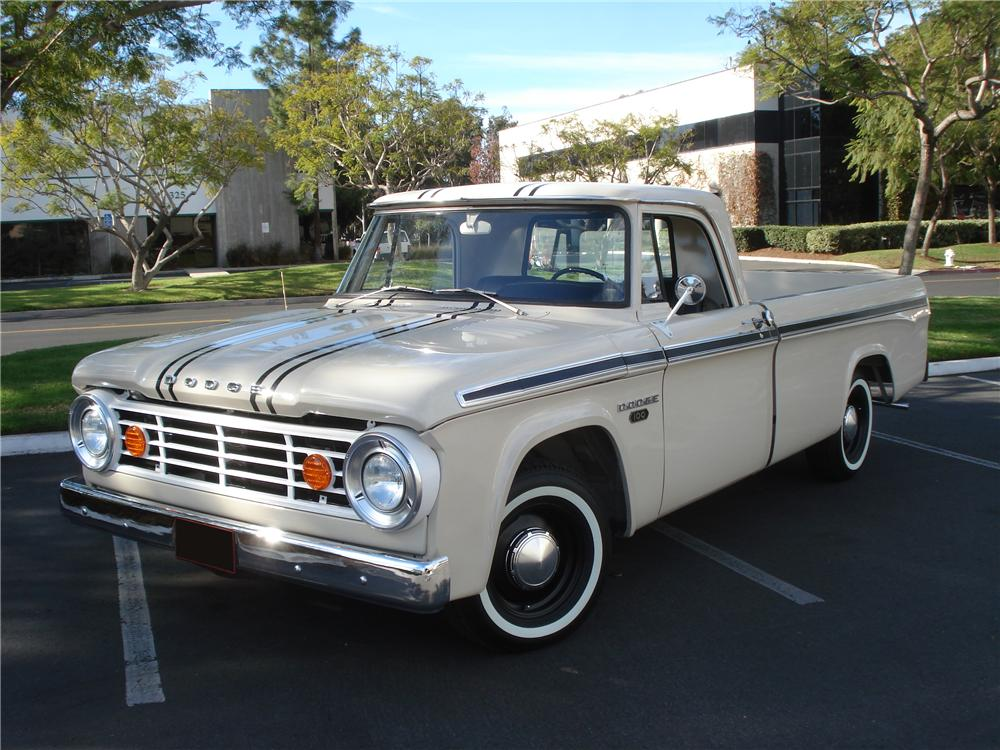 1967 Dodge Pickup - Information and photos - MOTcar
