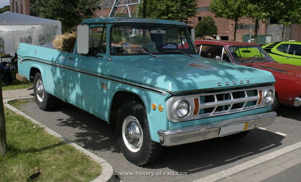 1969 Dodge Pickup - Information and photos - MOTcar